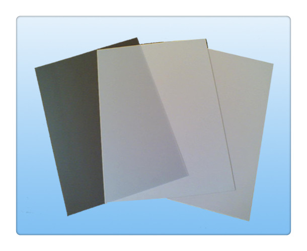 Transparent card materials
